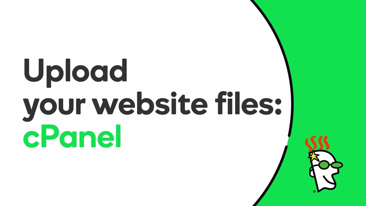 Upload Files with cPanel File Manager