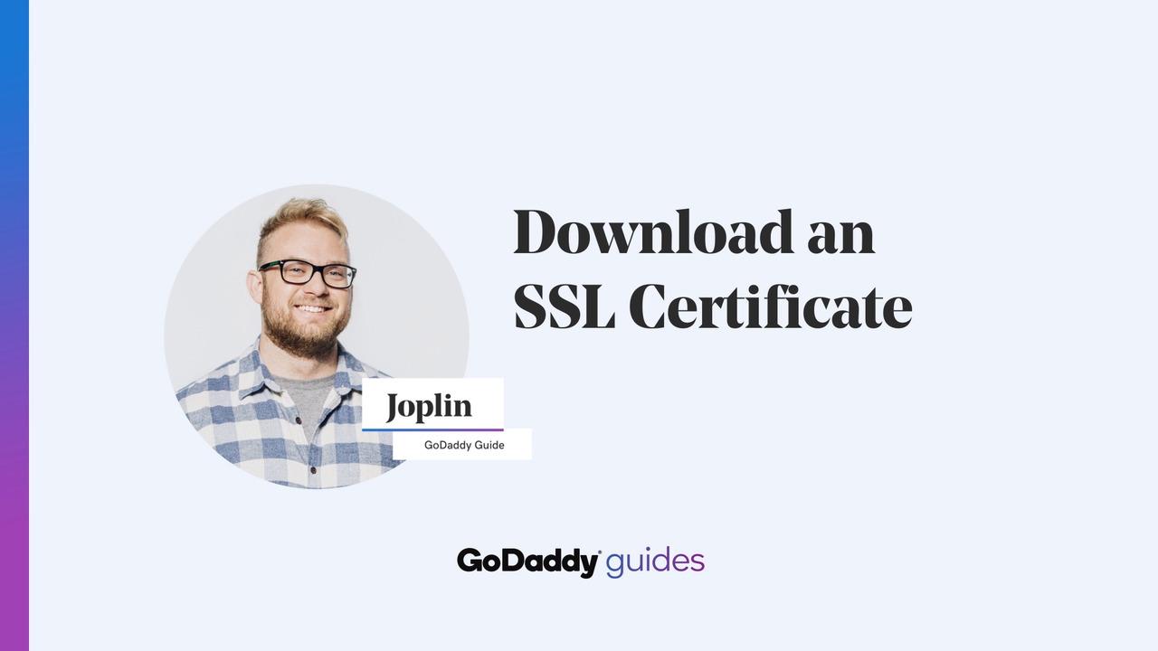 Download my SSL certificate files   SSL Certificates