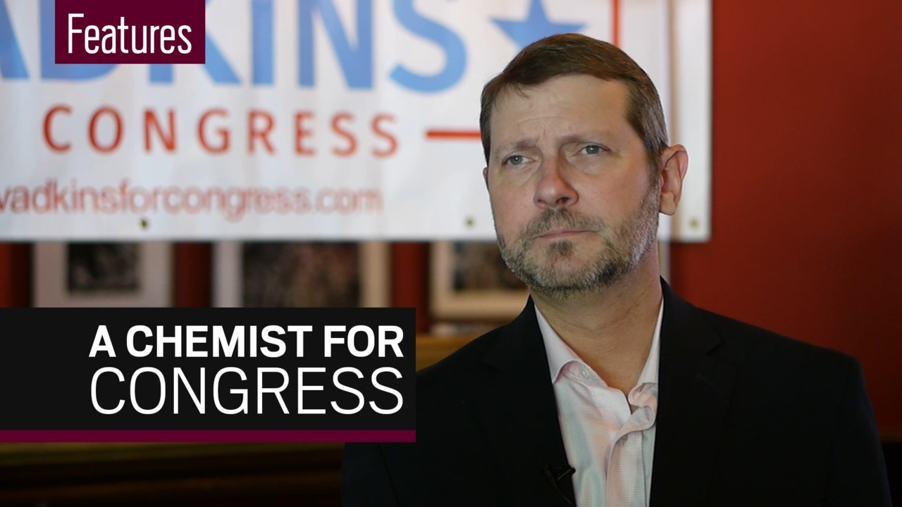 Scientists hit the campaign trail