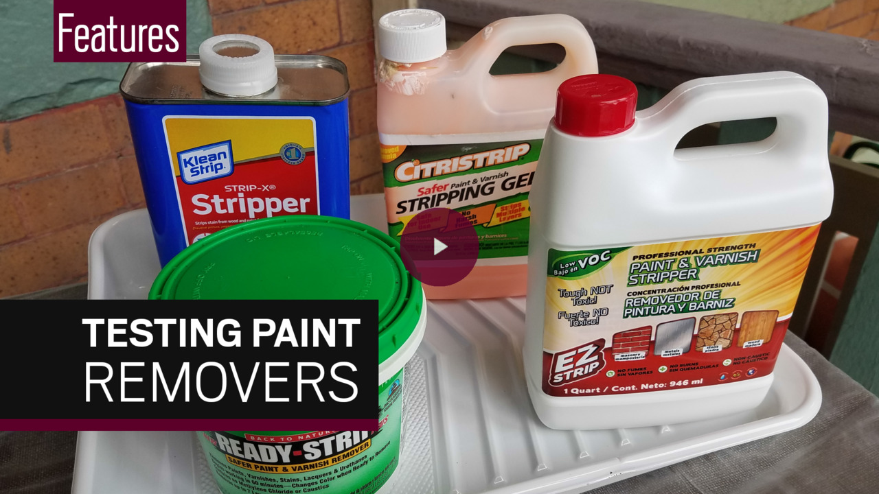 Replacing methylene chloride in paint strippers