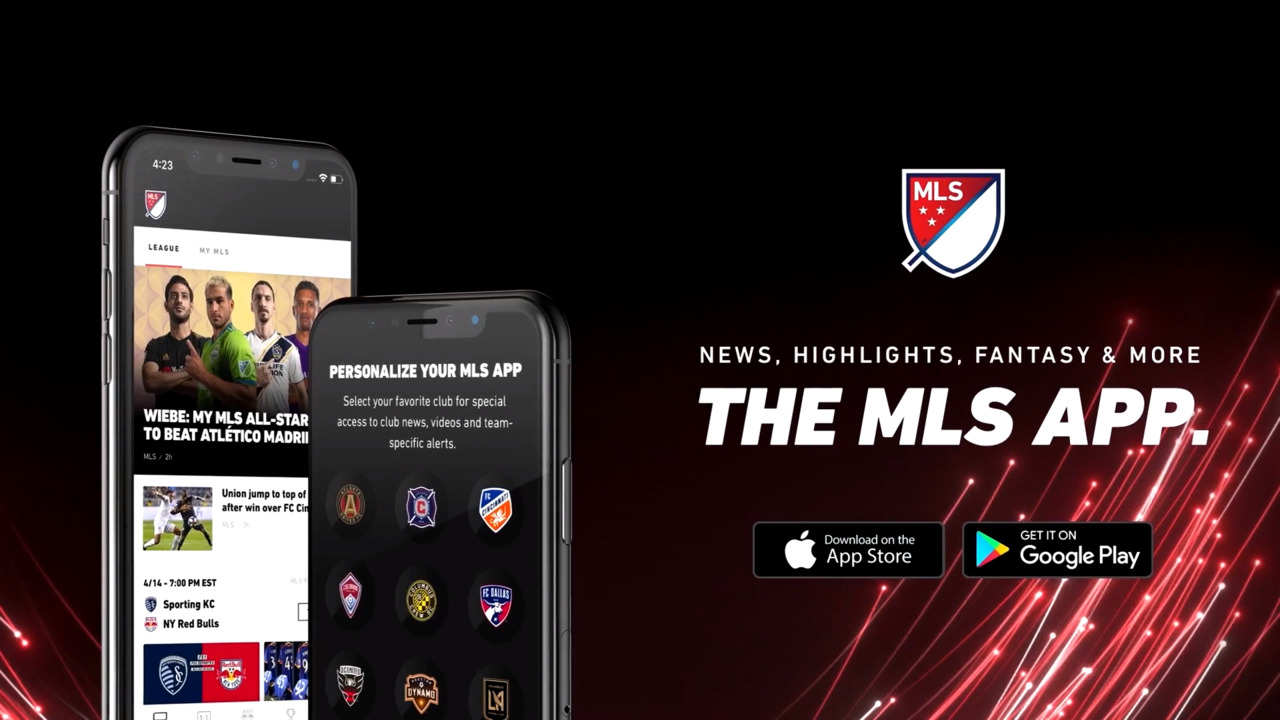 FREE official MLS app - available on iOS and Android | MLSsoccer com
