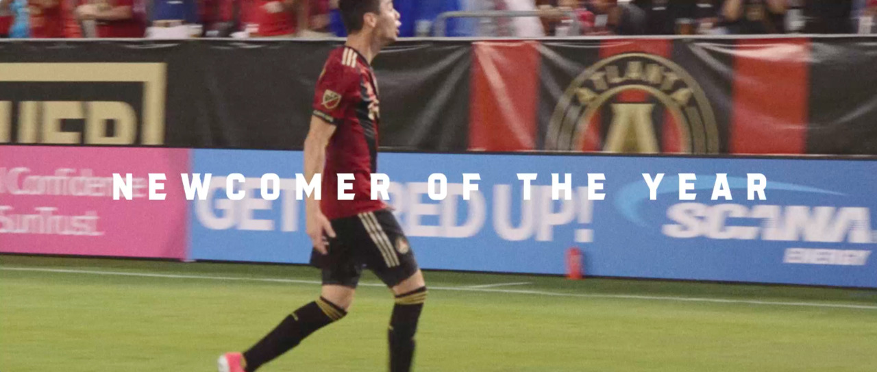 7cebad641c6 Miguel Almirón wins MLS Newcomer of the Year | Atlanta United FC