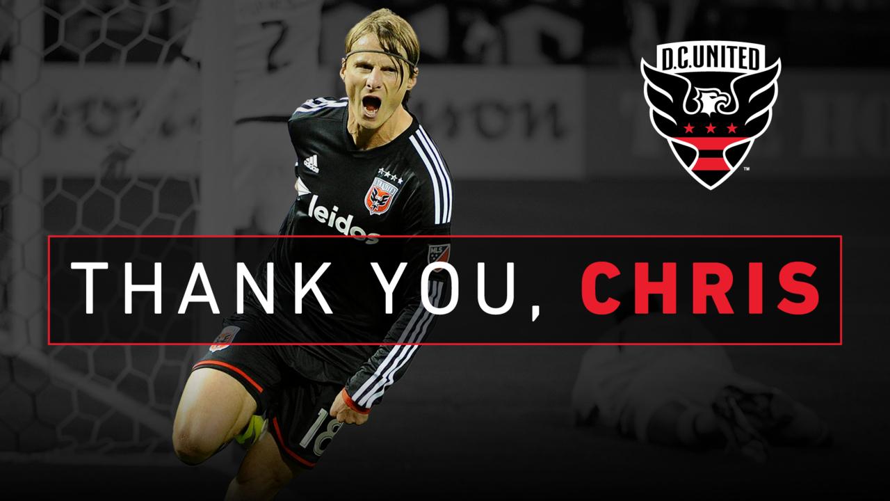 Chris Rolfe announces retirement | DC United