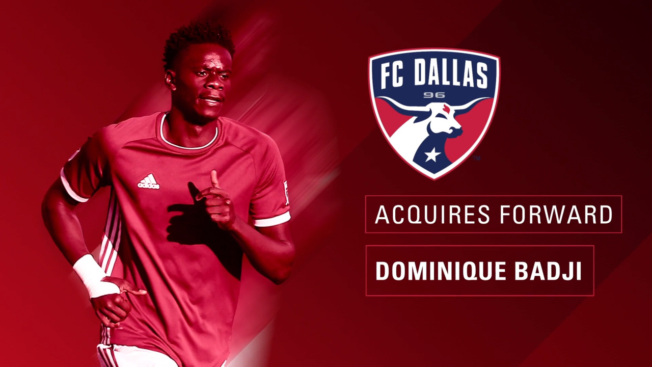 2dba15c1c57 FC Dallas Acquires Forward Dominique Badji from Colorado Rapids in Exchange  for Kellyn Acosta   FC Dallas