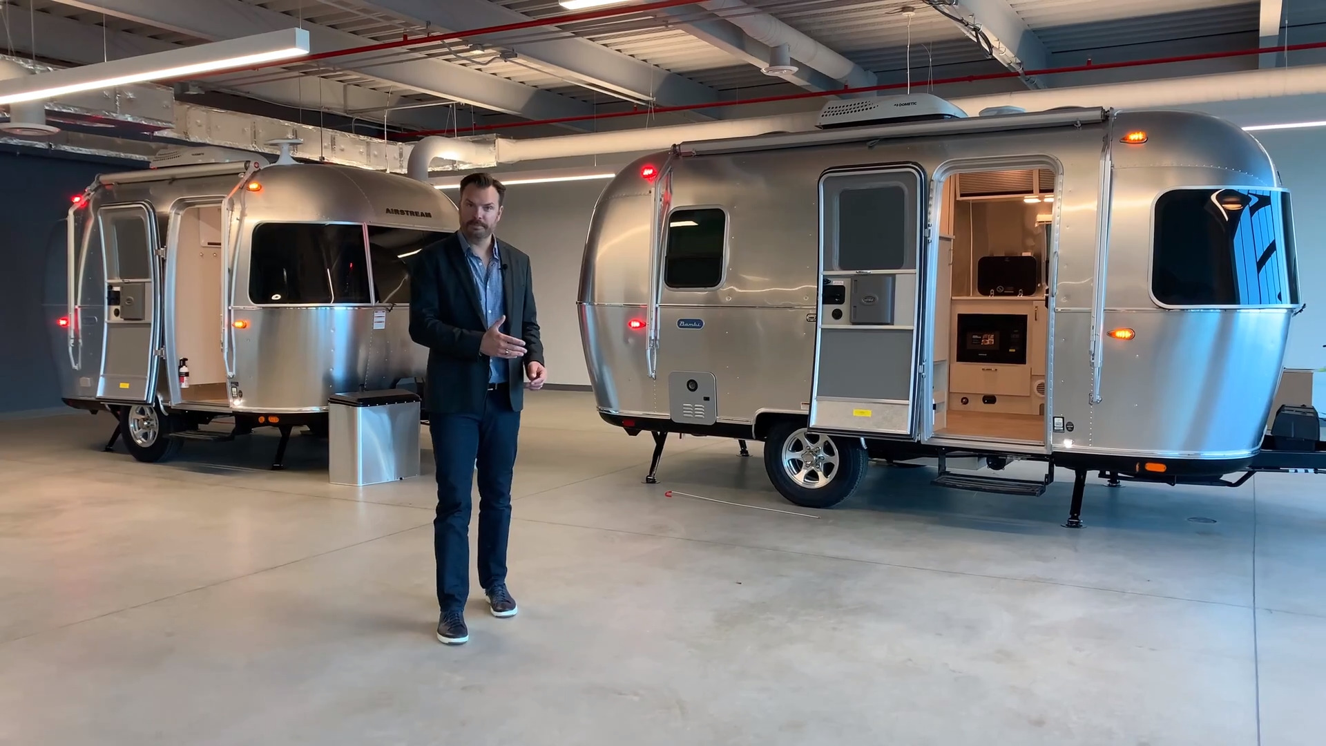 Exploring The Bambi Inside Out Floor Plans And Features Airstream