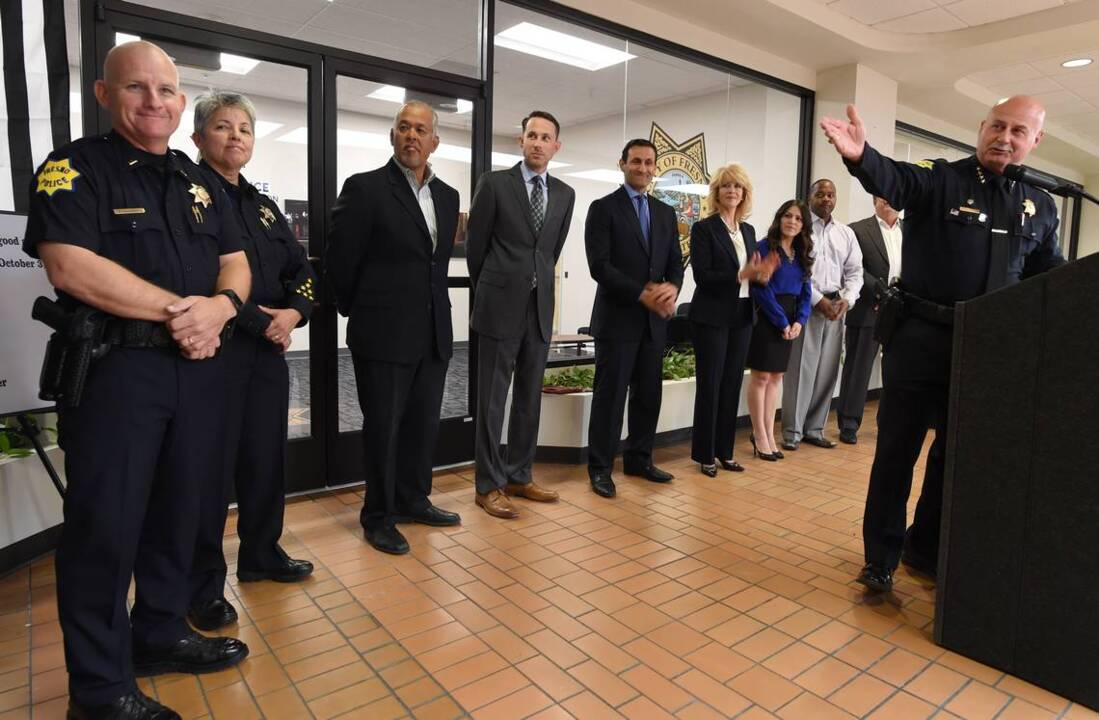 Andy Hall to replace Jerry Dyer as Fresno police chief, councilman says. It's a temp post