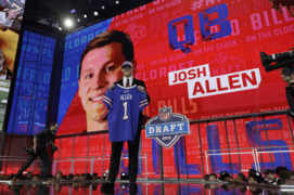 How those in the Central Valley reacted when Josh Allen was drafted by the Bills