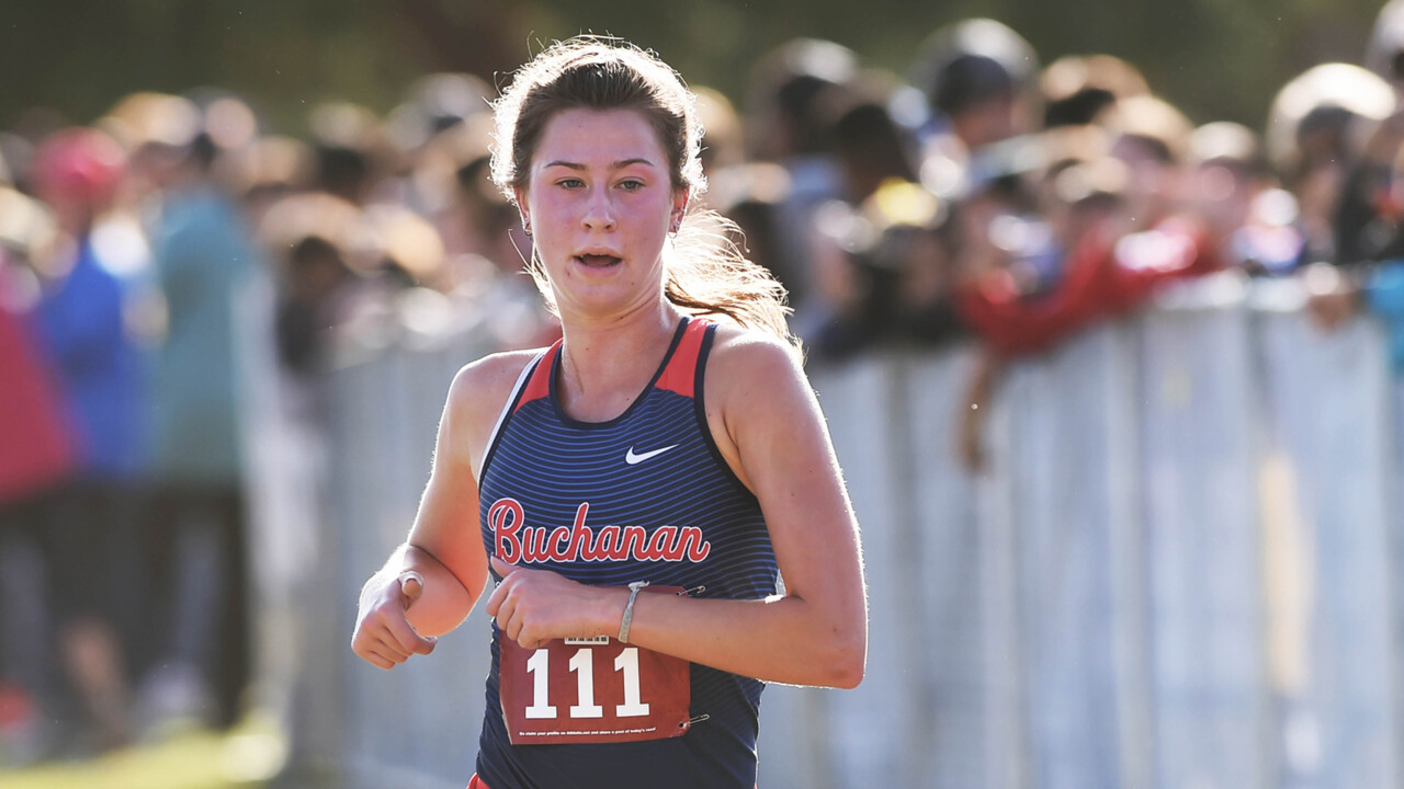 Buchanan's Corie Smith keeps her undefeated season running. Next up: state championships