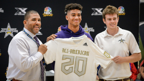 Memorial's Jalen McMillan selected to the 2020 All-American Bowl