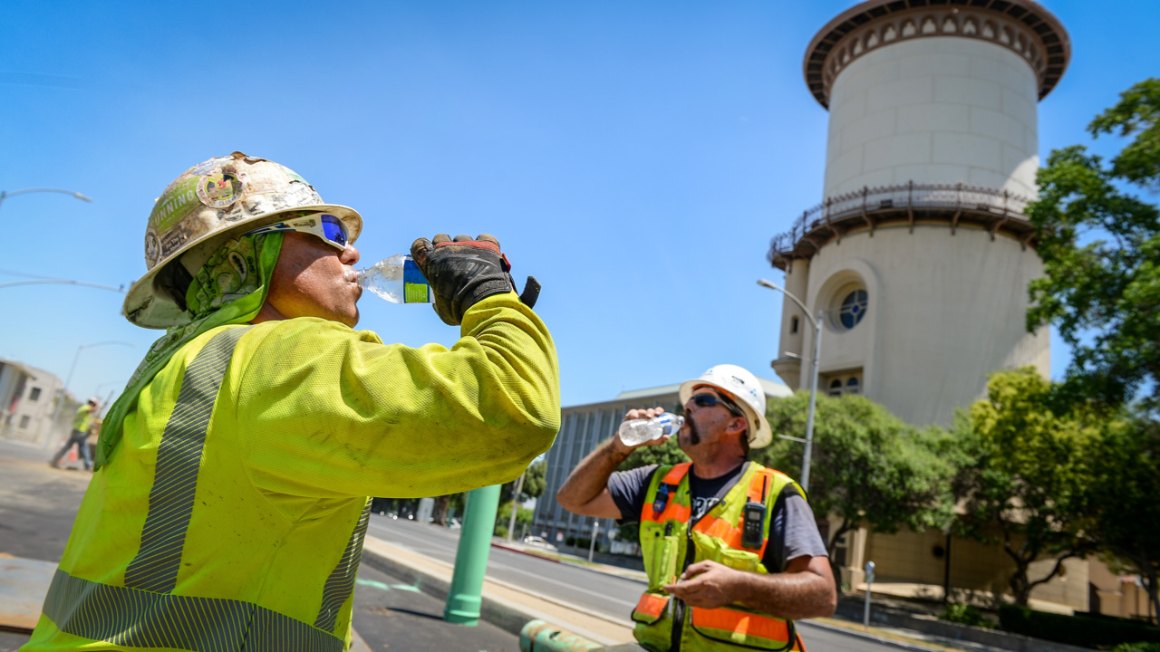 The heat is on! Fresno breaks a 46-year-old mark. This is how hot it got