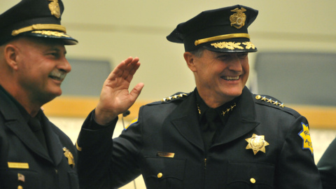 Fresno has a new, full-time police chief. For the next year, anyway