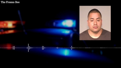Audio: Tearful Fresno police officer says he was 'set up' in stolen truck case