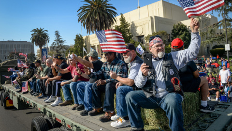 Central Valley Veterans Day Parade centennial celebration in Fresno called largest in U.S.