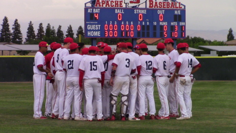Strong pitching by Alec Flores propels Sanger to Central Section Division II championship