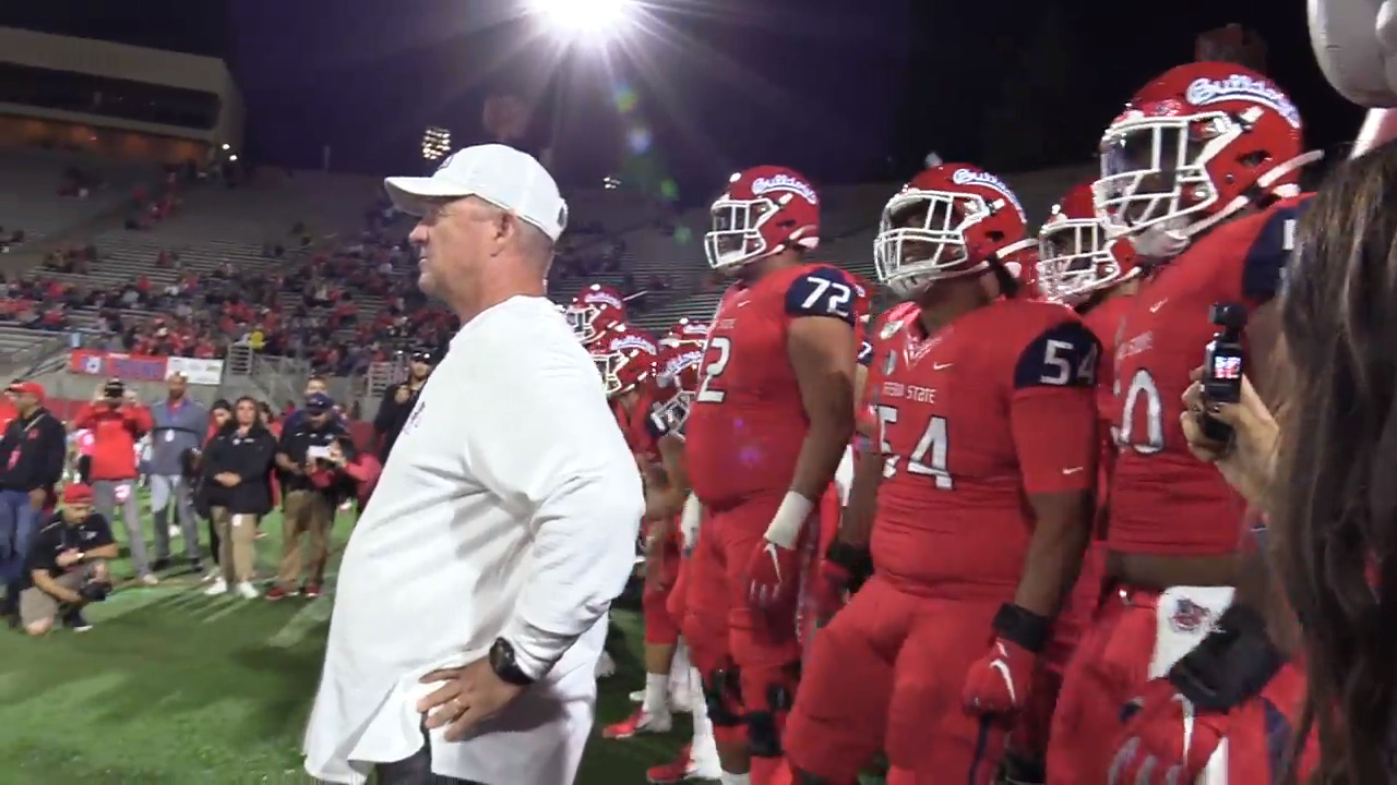 Fresno State vs. UNLV in-game: Bulldogs go into halftime with 197 rushing yards, 28-17 lead