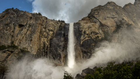 Yosemite waterfalls are gushing this year — and some won't last long. Here's how to see them