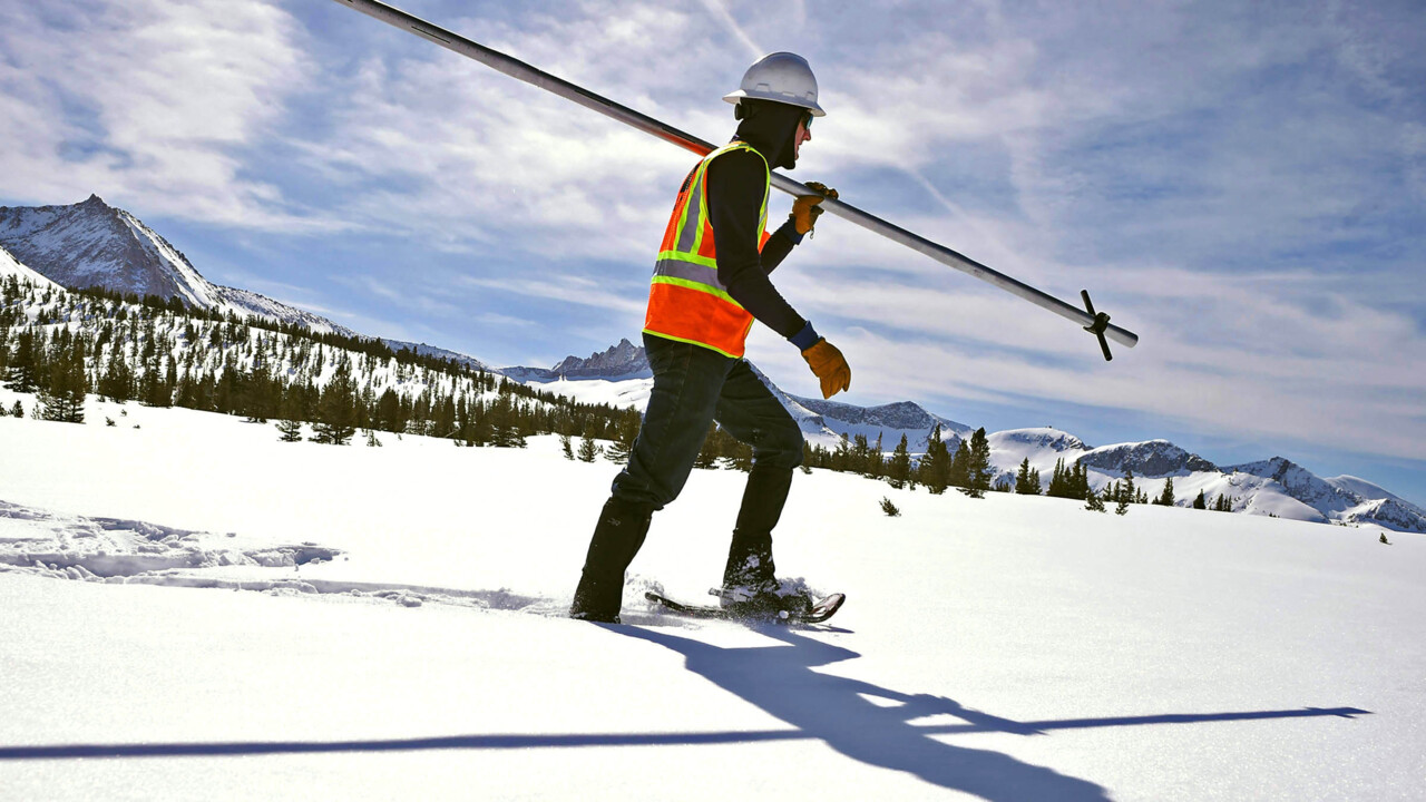 Snow survey says 178% of average in central Sierra. Here's how PG&E determines that