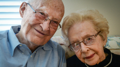 'Treat each other special.' Fresno couple met in junior high. They're both 100 now