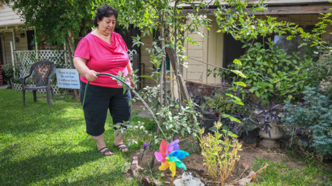 After meeting with the governor, woman's water well is still contaminated