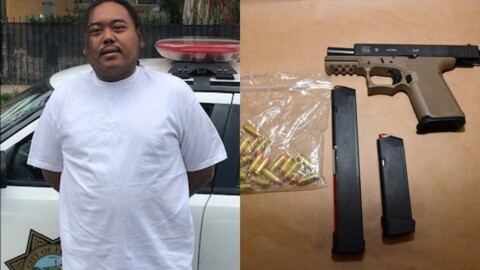 Police hunting machine pistols in hands of Fresno gang members