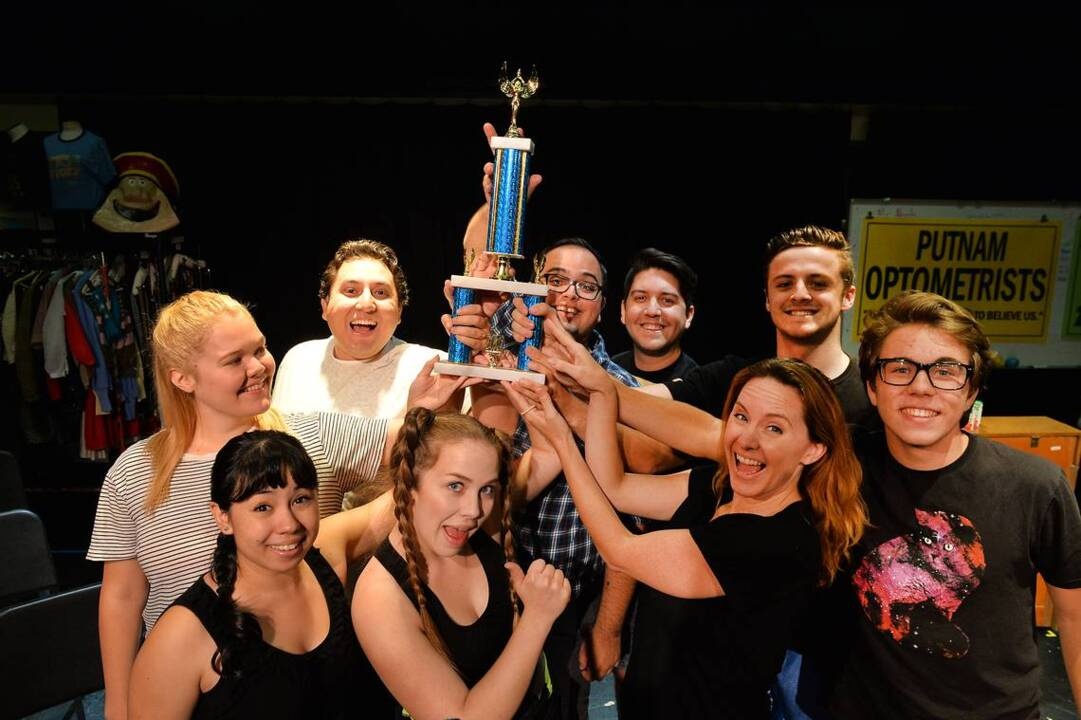 How about a real spelling bee for the cast of 'Spelling Bee'?