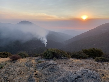 Pinpointing the origins of the Creek Fire in photos, video