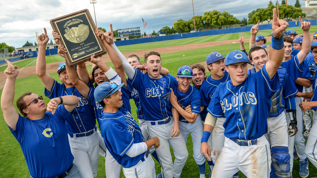 Clovis High sends Coach Patrick out in style with 10th section baseball championship