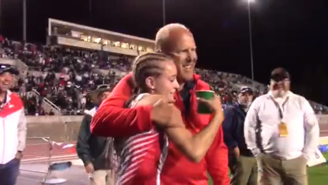 Shelby Daniele races to 200 win for Buchanan High at state championships
