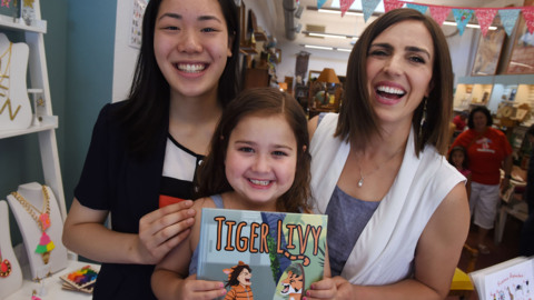 Livy Garcia has a rare disease. Her aunt, a Clovis teacher, used a tiger to help her heal