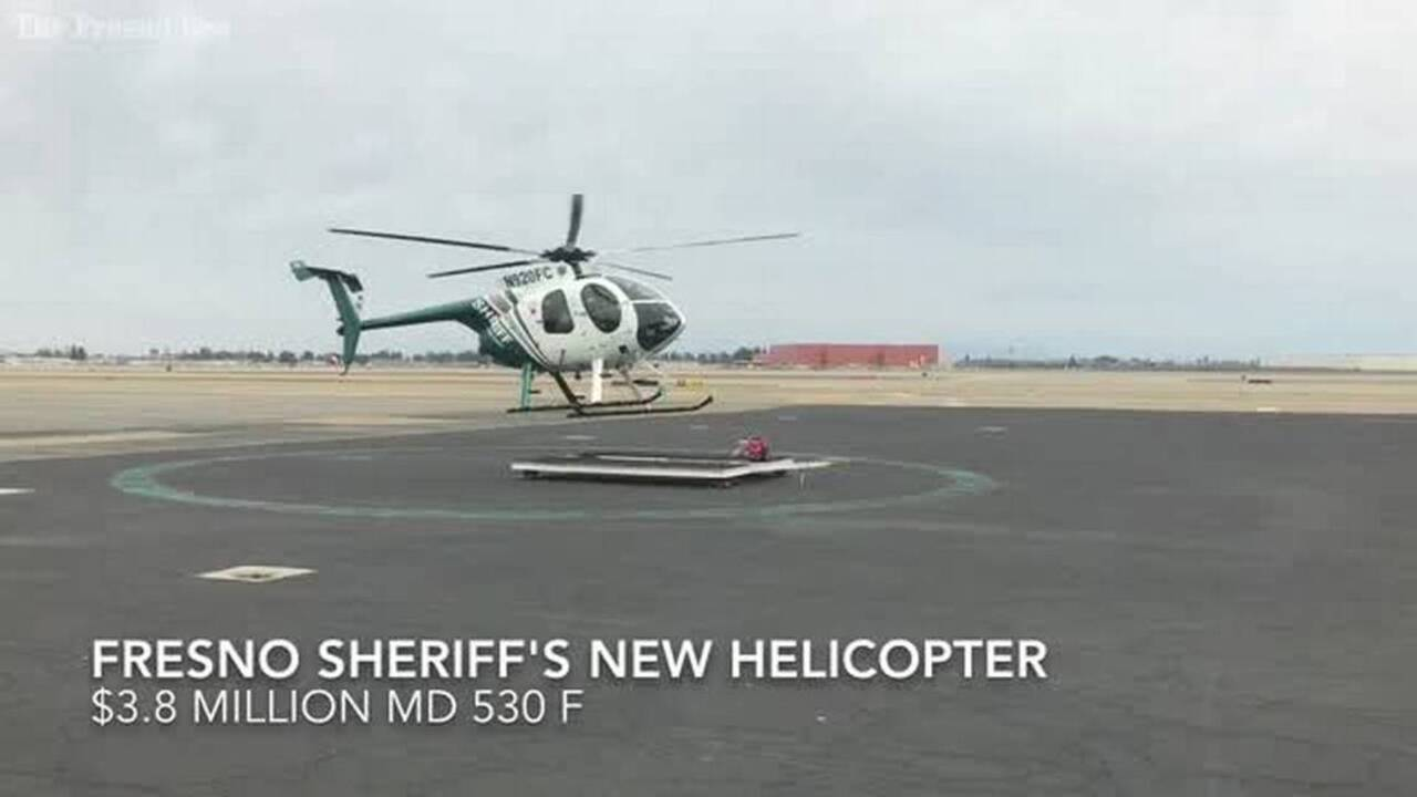 Fresno County Sheriff unveils new helicopter | The Fresno Bee