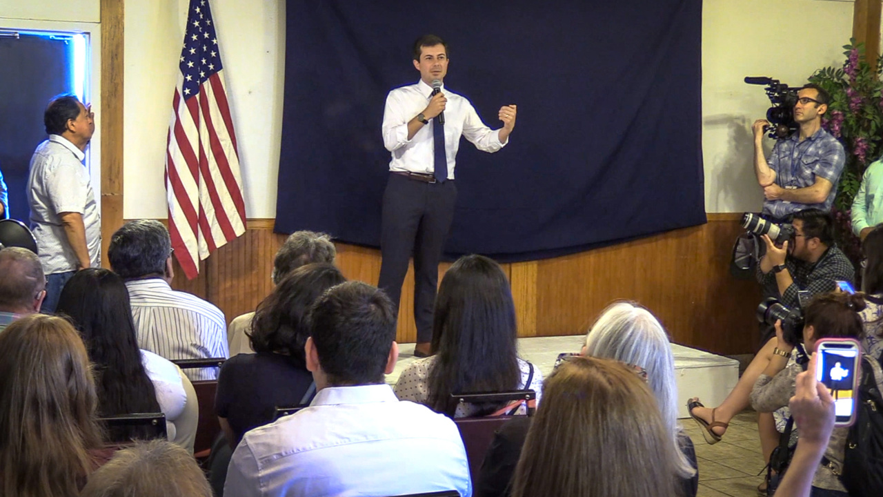 Pete Buttigieg tells huge Fresno crowd why he supports impeaching President Trump