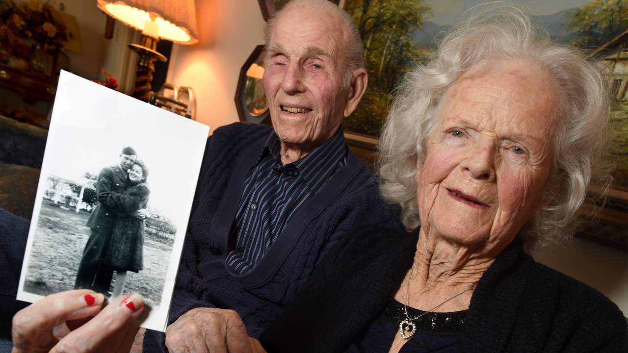 'Work things out together.' Fresno couple met during WWII. She built ships, he was in Army