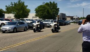 Ivanka Trump's motorcade passes through Fresno County