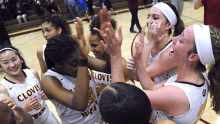Clovis West snatches semifinal basketball win with three-pointer
