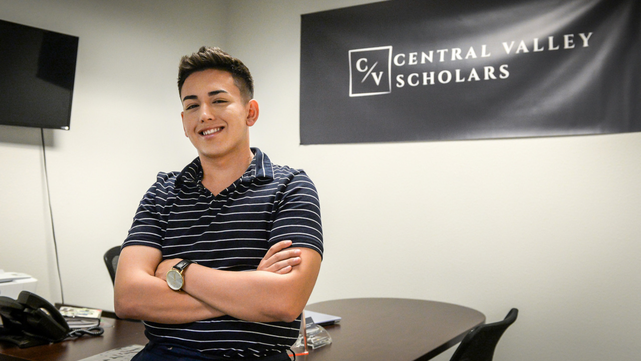 His identity bothered some people. It inspired him to help Valley residents go to college
