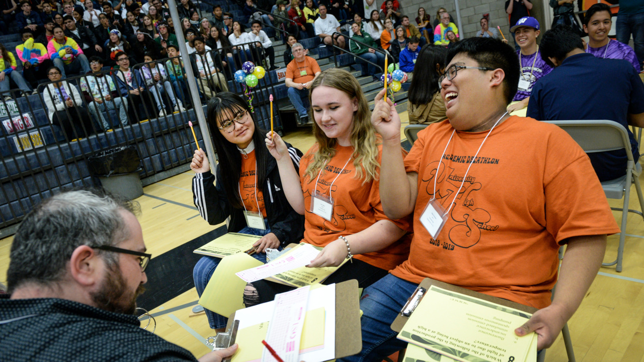 77d5a0269 Academic Decathlon 2019  Valley high school competitions