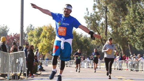 Records broken, families run together at 12th Two Cities Marathon races