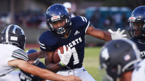 Central Section high school football scores: Week 5