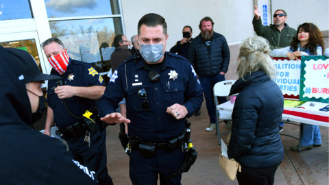Anti-mask protesting could get you arrested in Fresno stores, Dyer says. That's good