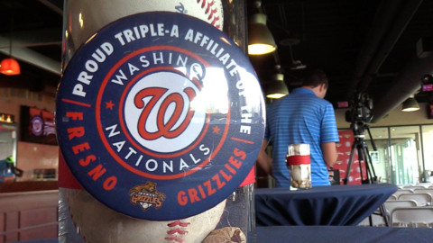 Washington Nationals named Fresno Grizzlies MLB affiliate