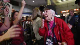Seventeenth Central Valley Honor Flight returns to Fresno