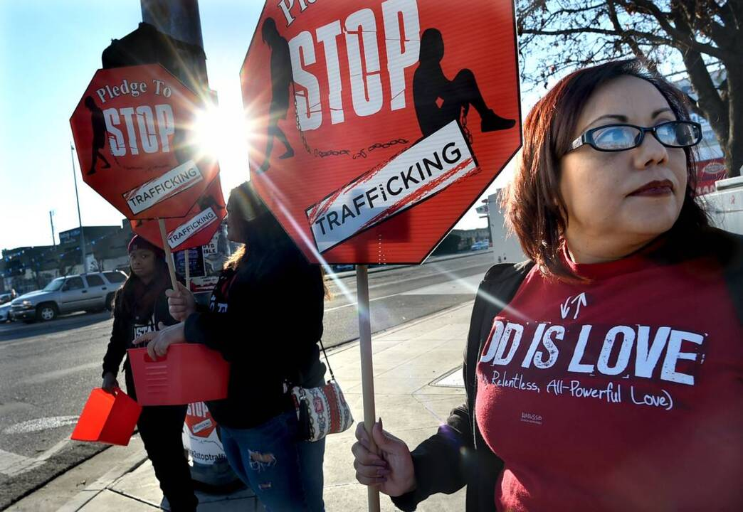 Human trafficking plagues the Valley. People raised thousands of dollars to fight it