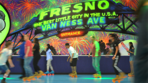 Everything old is cool again? United Skates revives Clovis roller rink into neon fun land