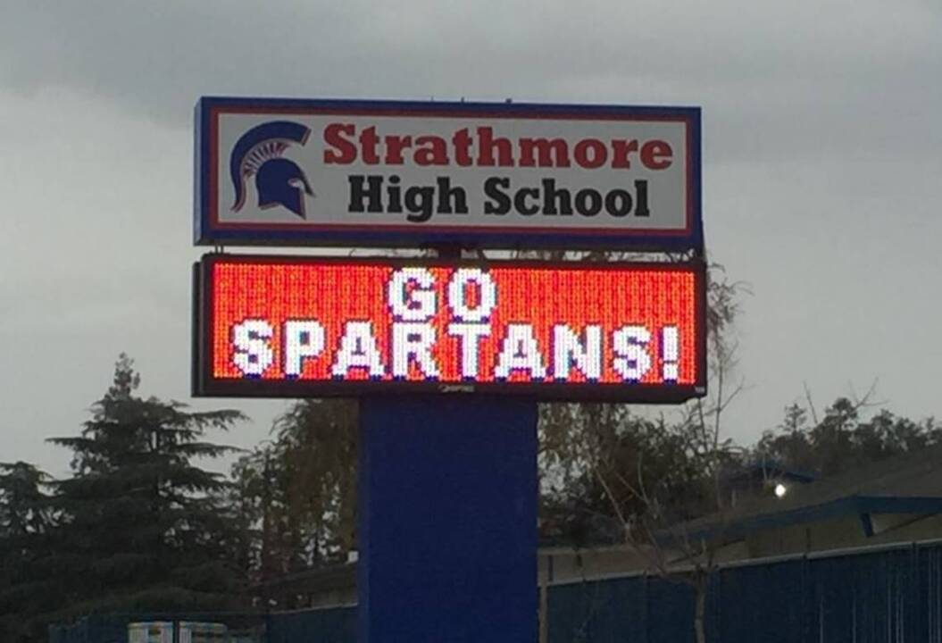Excitement builds at Strathmore as football team plays for state