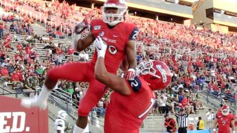 Watch Fresno State's Ronnie Rivers score Bulldogs' 2nd touchdown