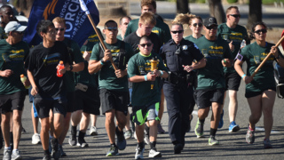 The Law Enforcement Torch Run for the Special Olympics Northern California
