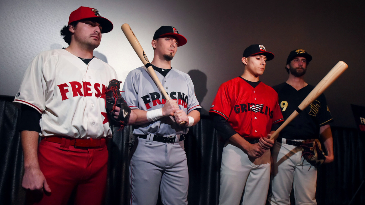08b332925 Fresno Grizzlies new-look uniforms and a gallery of past | The ...
