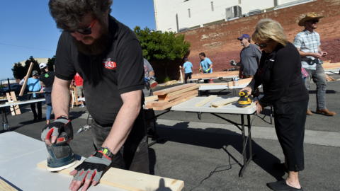 Some kids in Fresno go without beds. This group built a solution and you can help, too