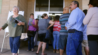 The DMV promised more hours, shorter lines. Patterson says it failed