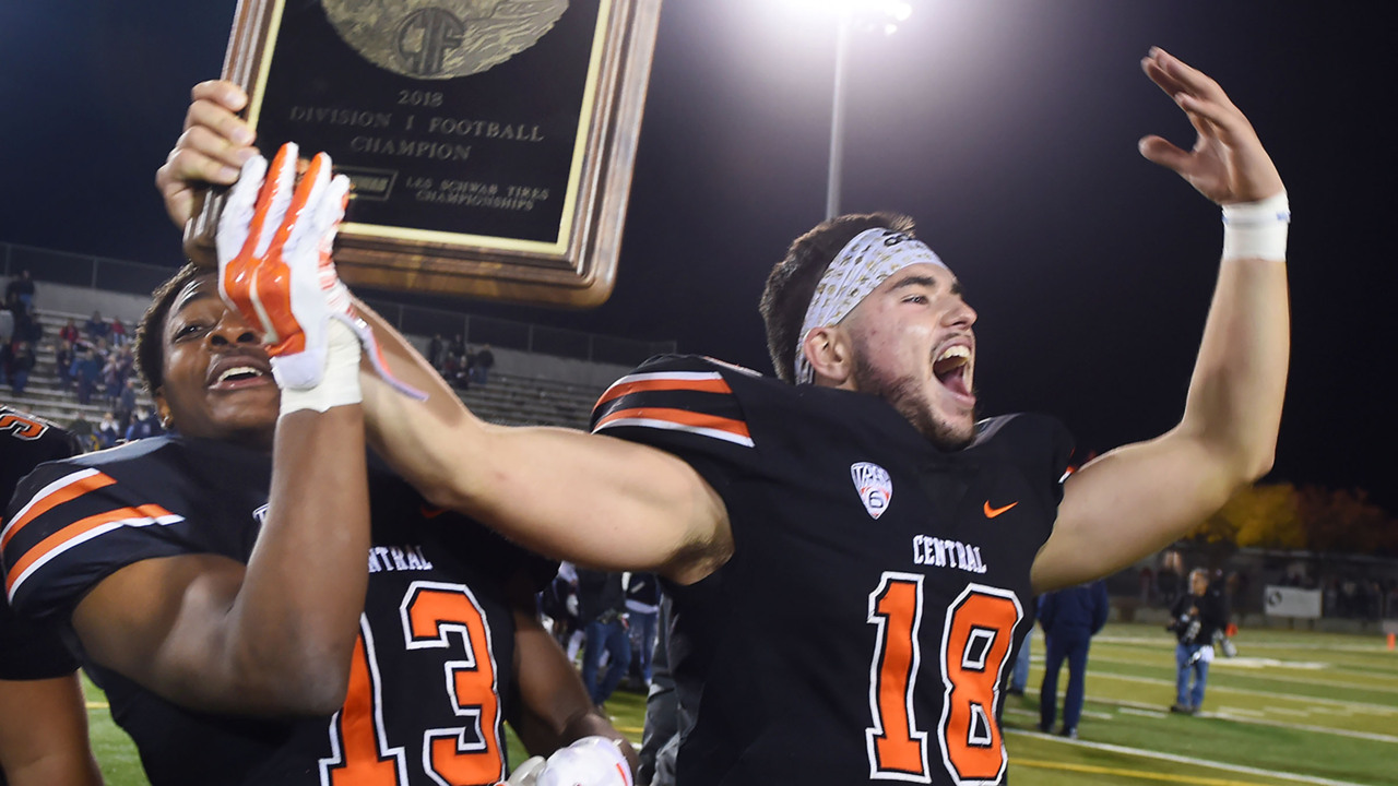 Central Section high school football 2019 week-by-week schedule